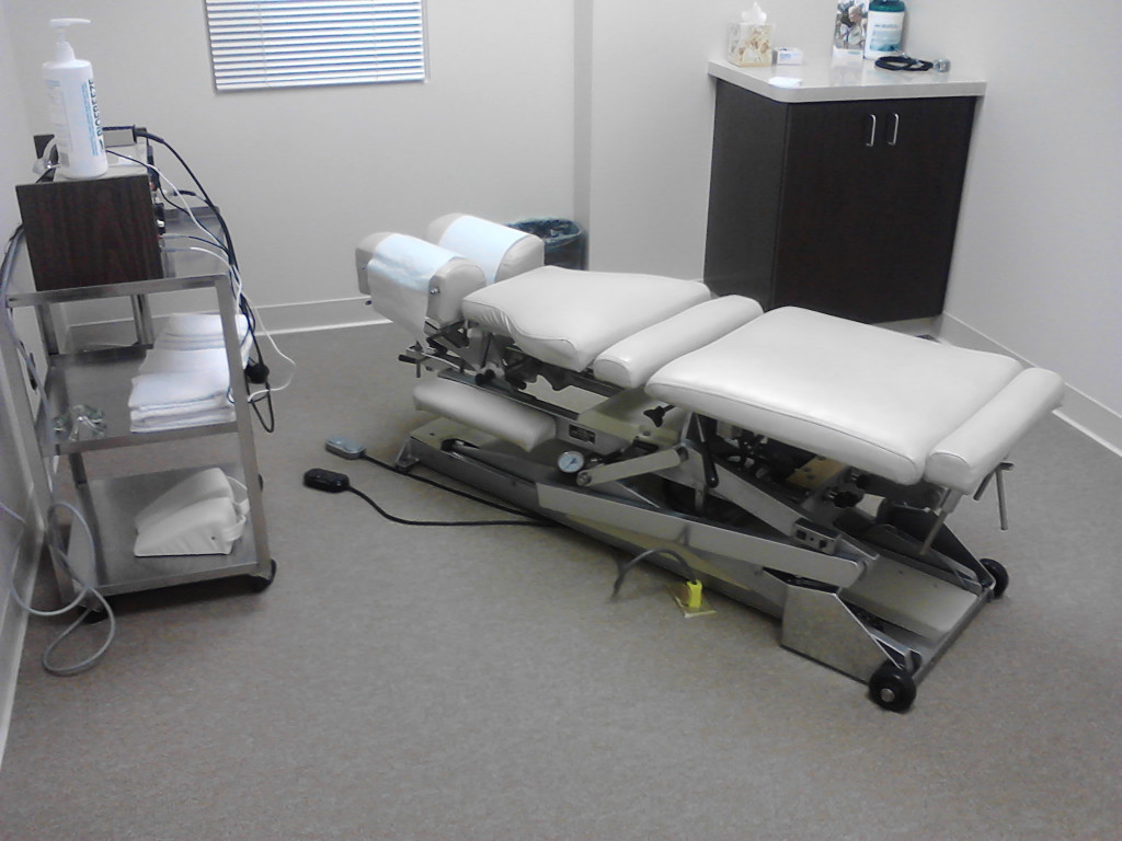 Camarillo Chiropractor Flexion/Distraction Table